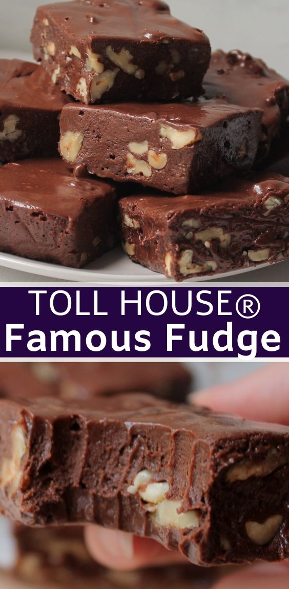 Toll House® Famous Fudge
