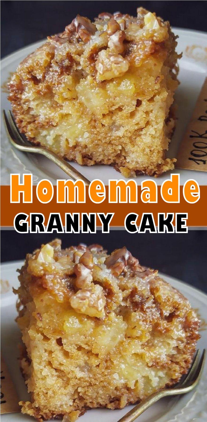 HOW DO YOU MAKE A MOIST GRANNY CAKE ?