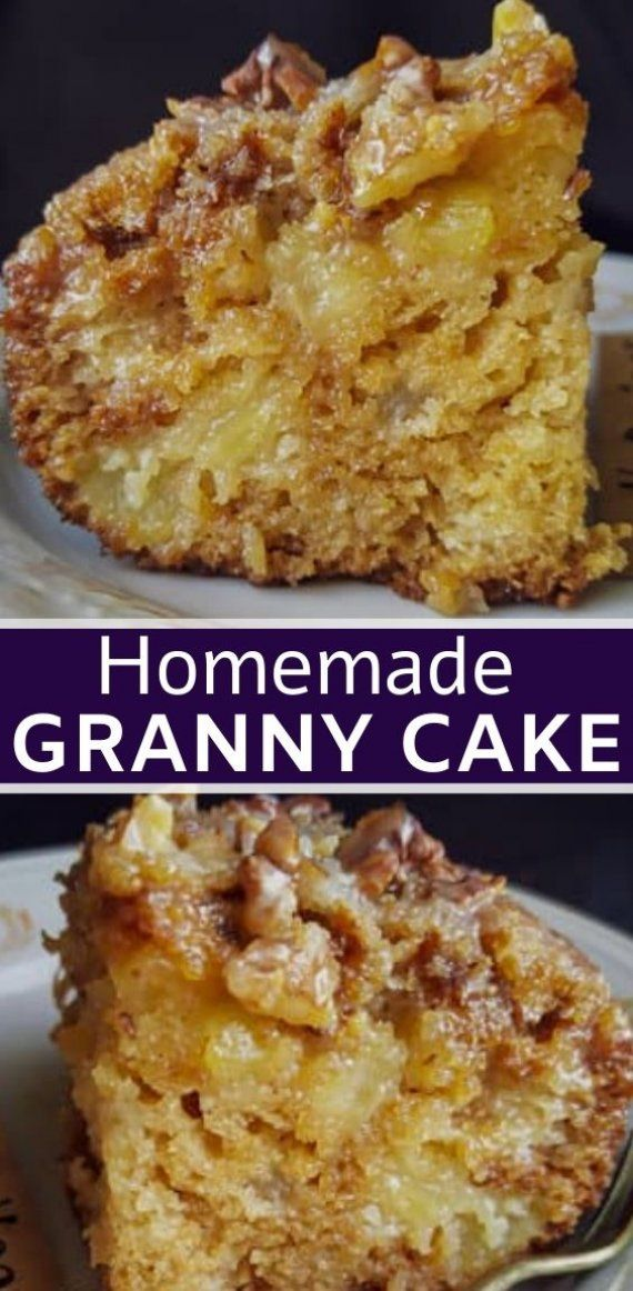 HOW DO YOU MAKE A MOIST GRANNY CAKE ?