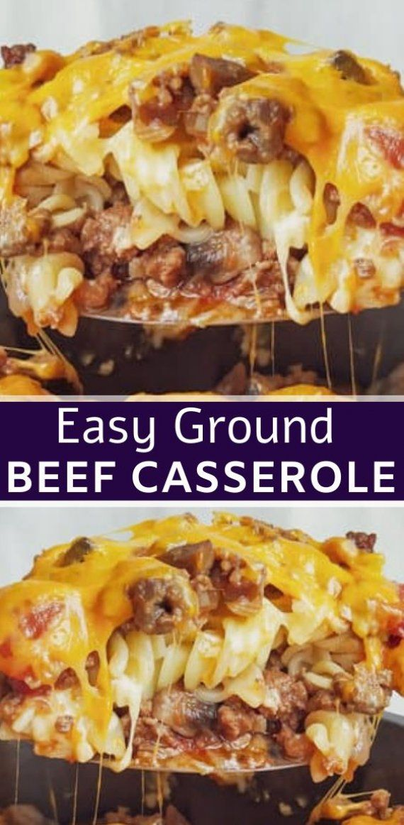Johnny Marzetti Casserole – (Ground Beef Casserole Recipe)