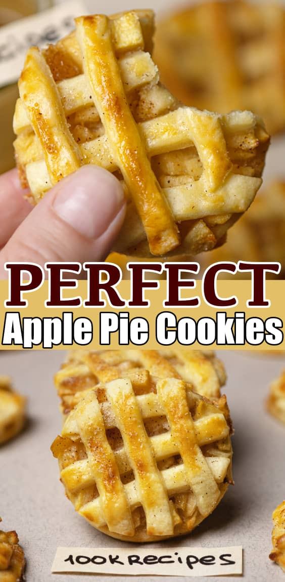 Perfect Apple Pie Cookies