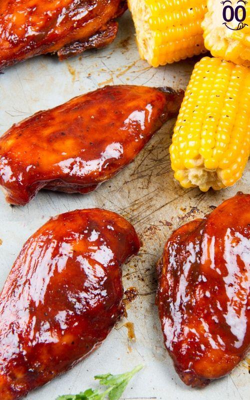 Smoked Chicken Breast l™ {100krecipes}