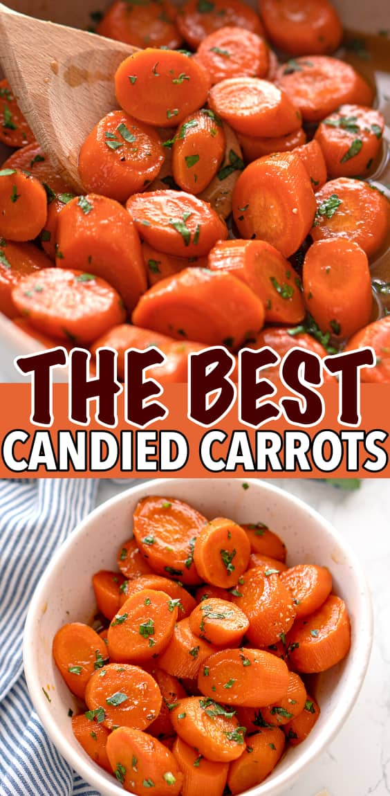 EASY CANDIED CARROTS RECIPE