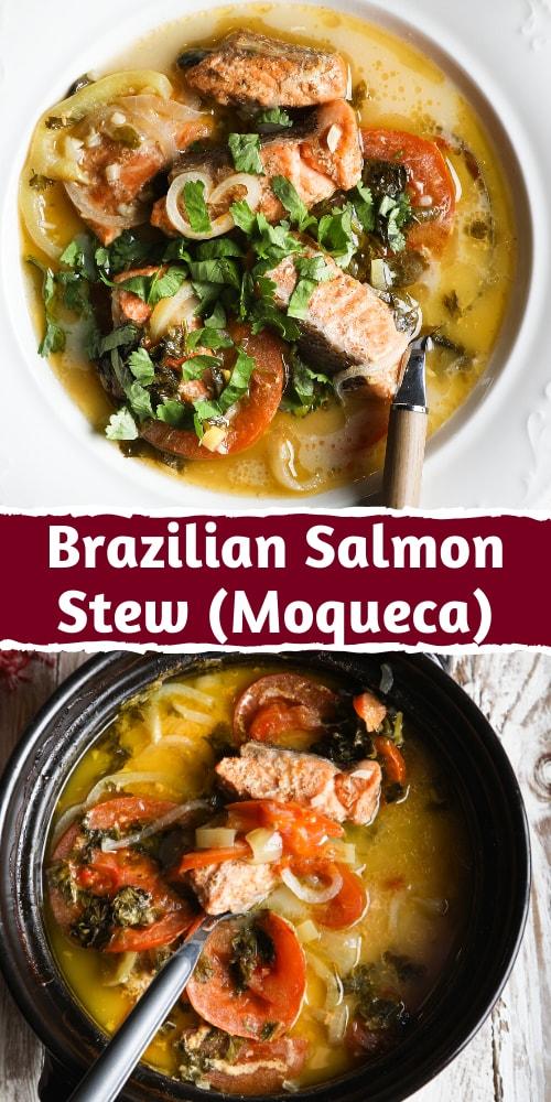 Brazilian Salmon Stew