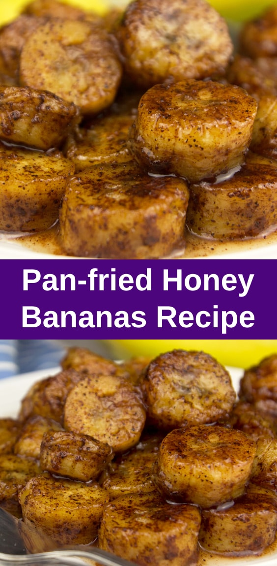 Pan-Fried Honey Bananas