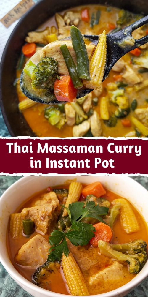 Thai Massaman Curry in Instant Pot or Stovetop