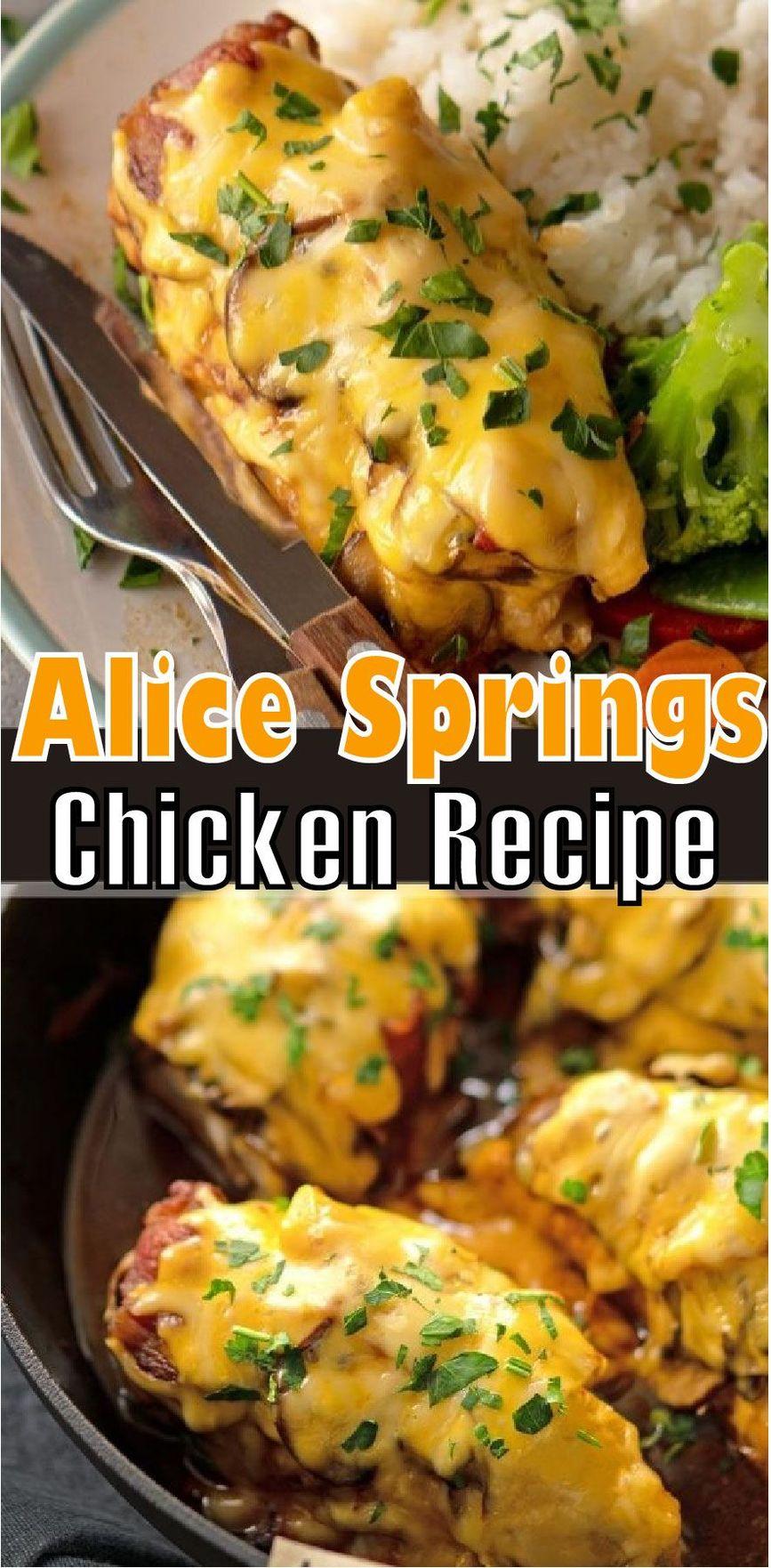 Alice Springs Chicken Recipe (Outback Copycat)
