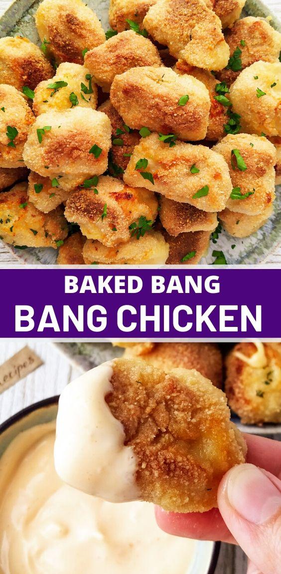 Baked Bang Bang Chicken