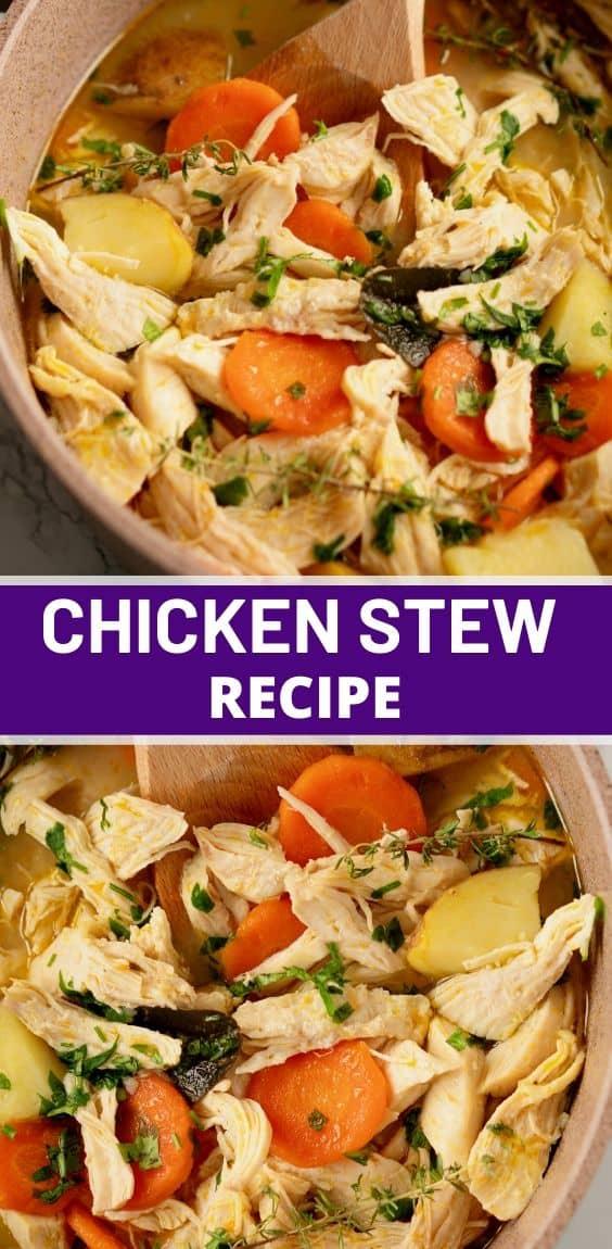 Best Chicken Stew Recipe Pinteerest Recipes