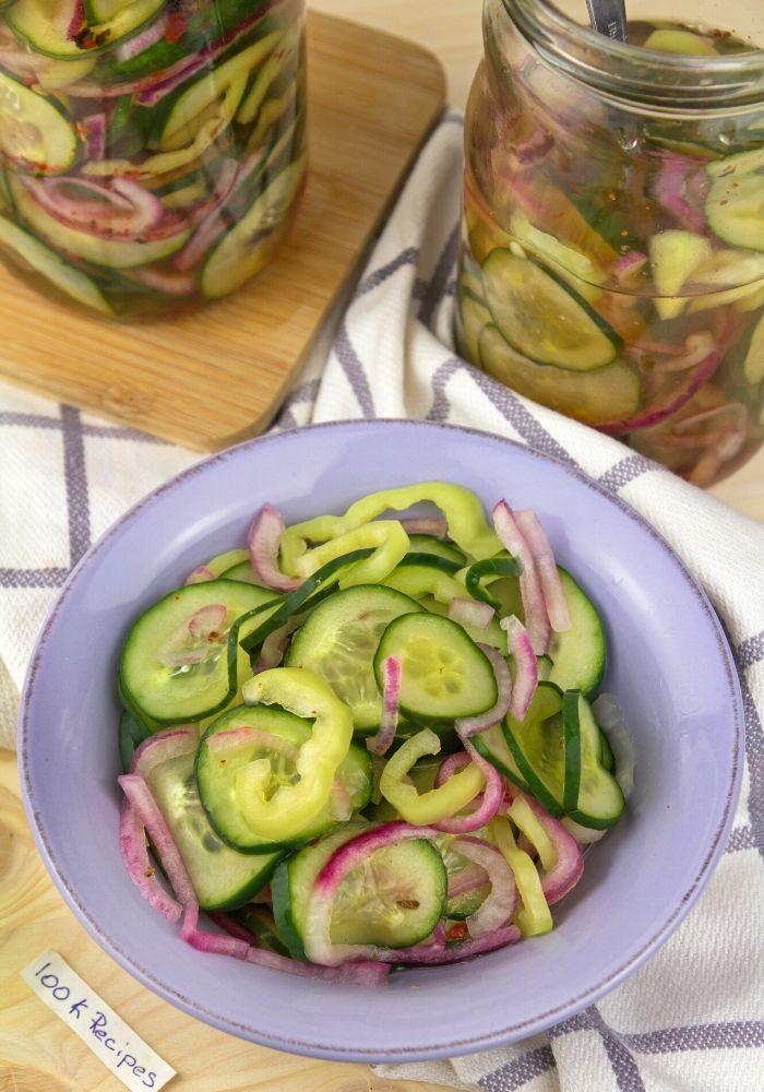 Summer Vinegar Salad Recipe