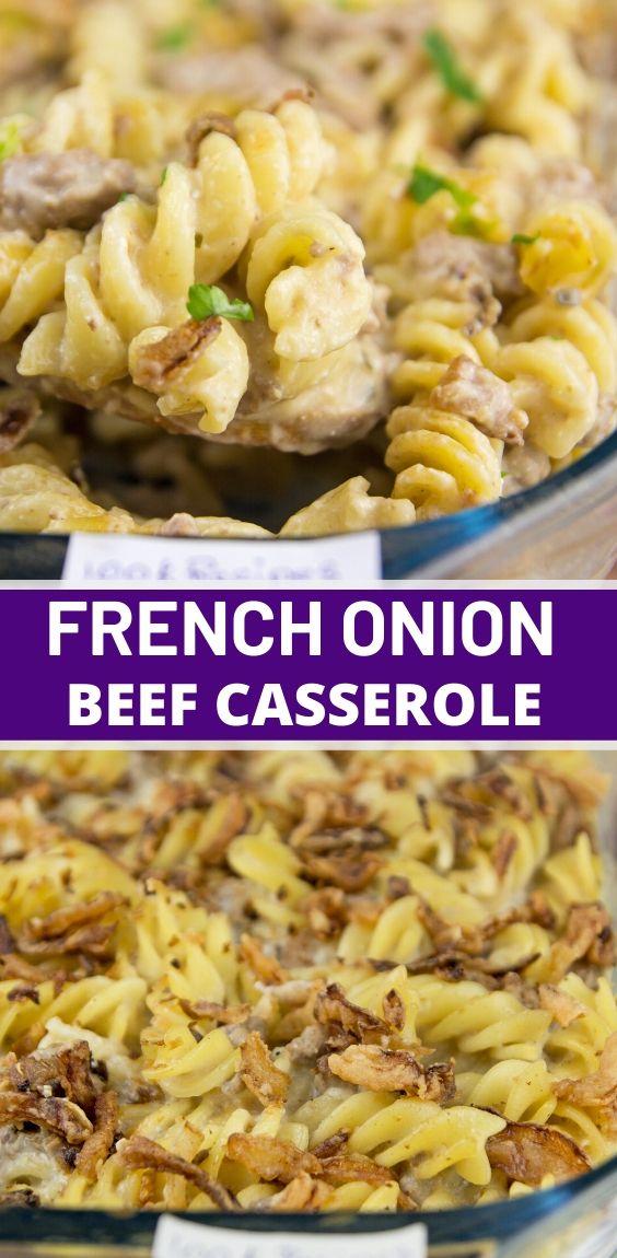 French Onion Casserole