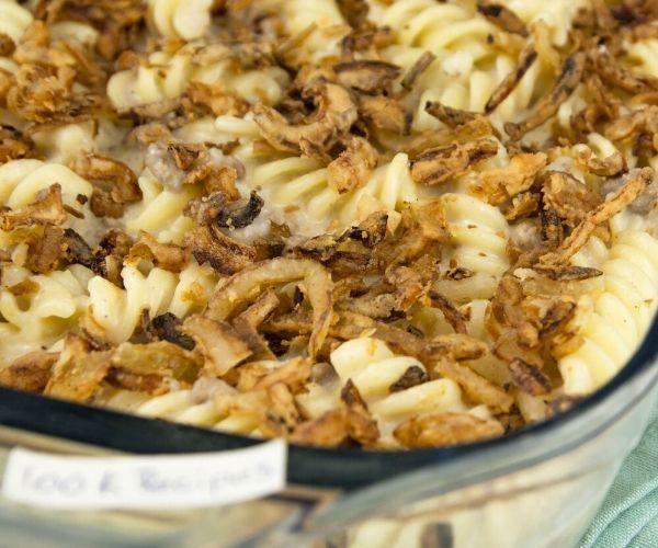 Easy French Onion Pasta Casserole Recipe