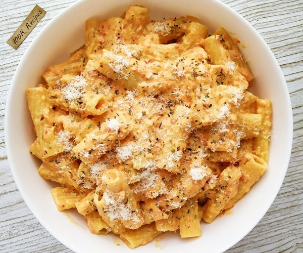 How do you Make Baked rigatoni pasta Recipe