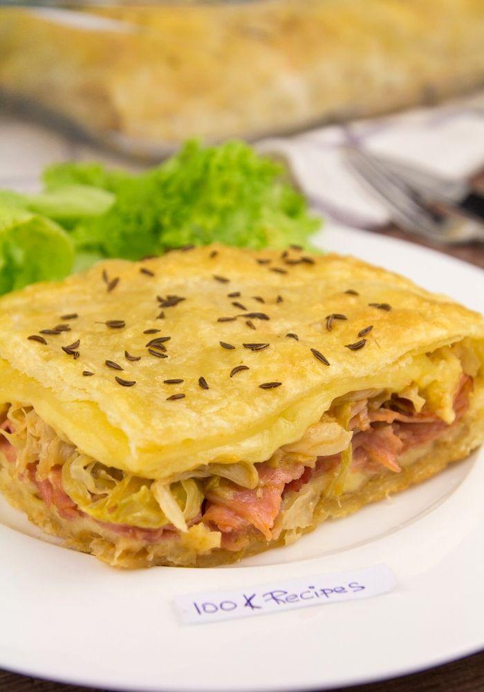 Easy Reuben Bake Casserole Recipe