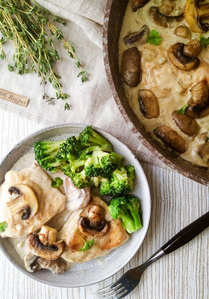 Chicken and Mushroom Recipe