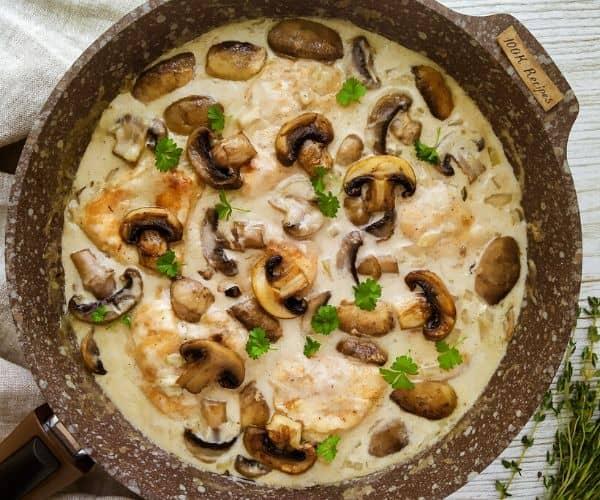 Easy Chicken and Mushroom Recipe