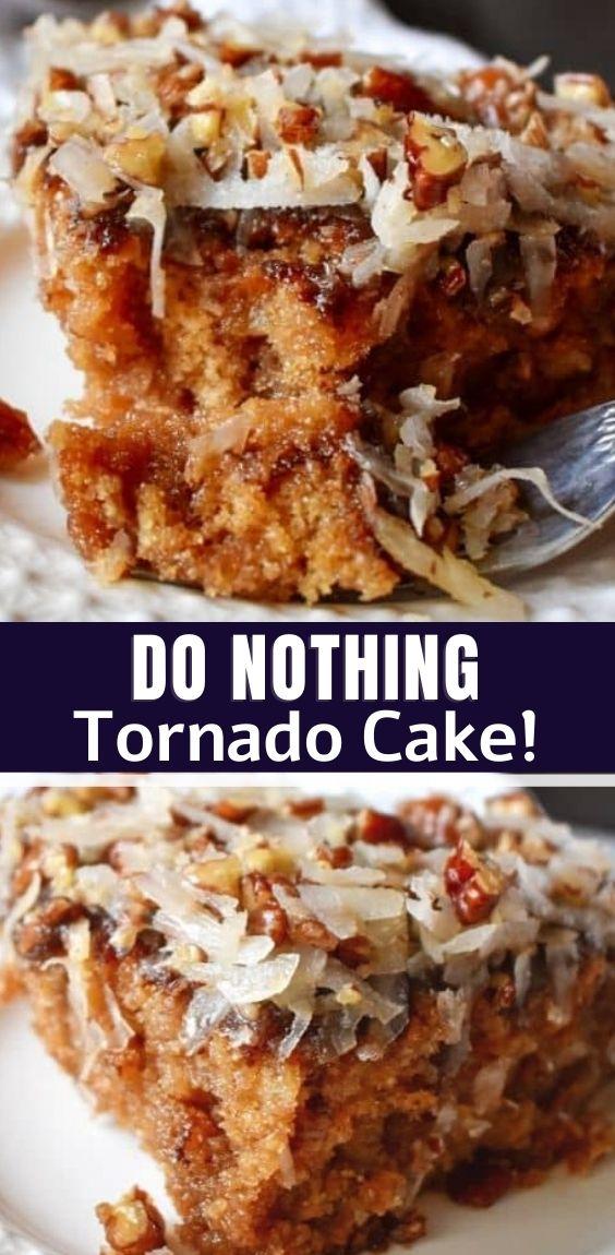 Do Nothing Tornado Cake!