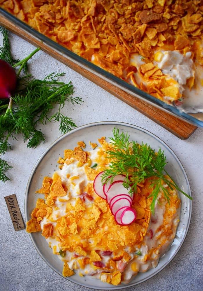 Easy Doritos Chicken Casserole - 100KRecipes