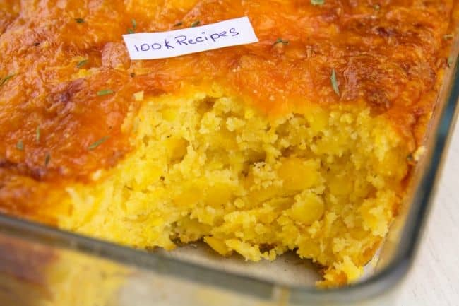 Easy Jiffy Cornbread Casserole Recipe