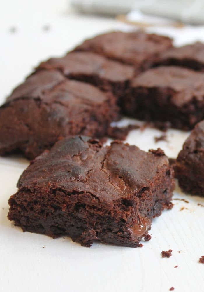 THE BEST HOMEMADE BROWNIE RECIPE