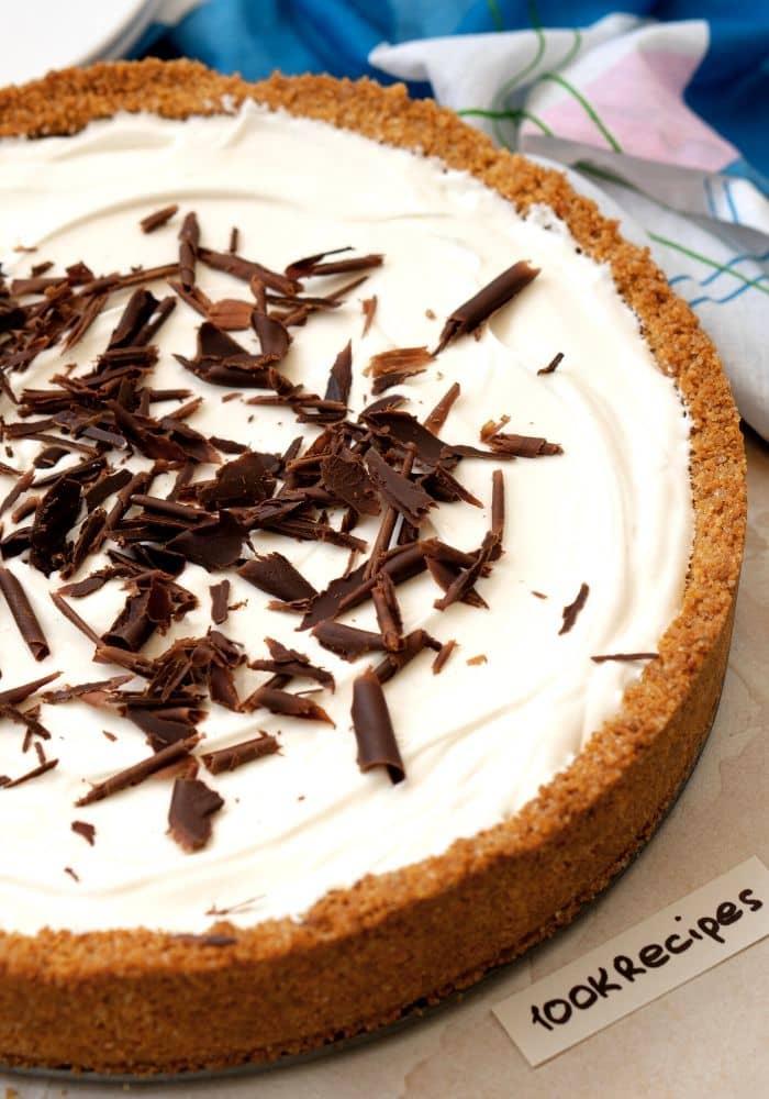 French Silk Pie with Graham Cracker Crust