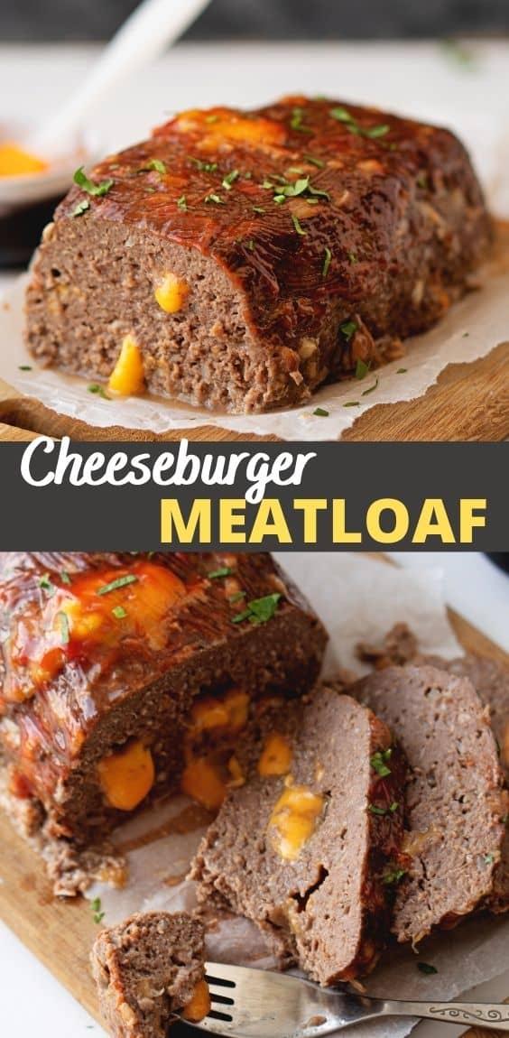 Cheeseburger Meatloaf (Keto / Low Carb)