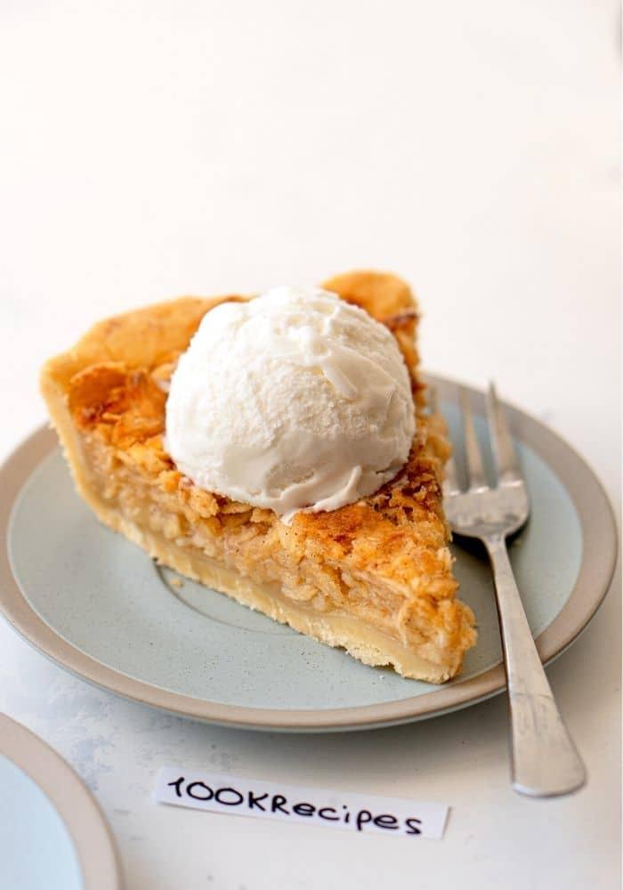Unbelievably Good Shredded Apple Pie