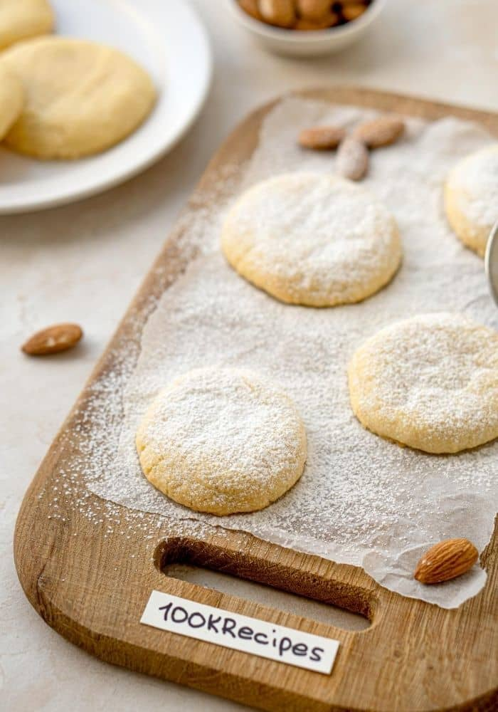 Almond Pillow Cookies