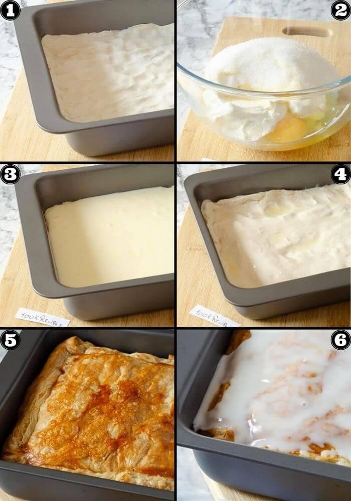 Homemade Cheese Danish