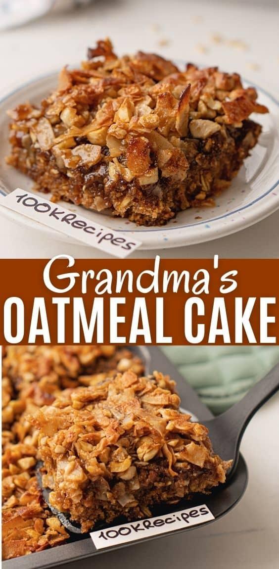 Grandma\'s Oatmeal Cake