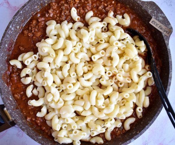 Cheesy Hamburger Casserole