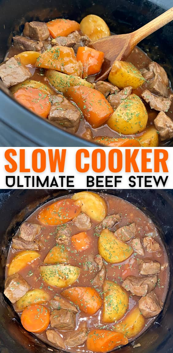 The Ultimate Slow Cooker Beef Stew