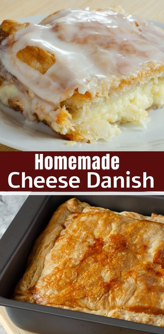 Homemade Cheese Danish