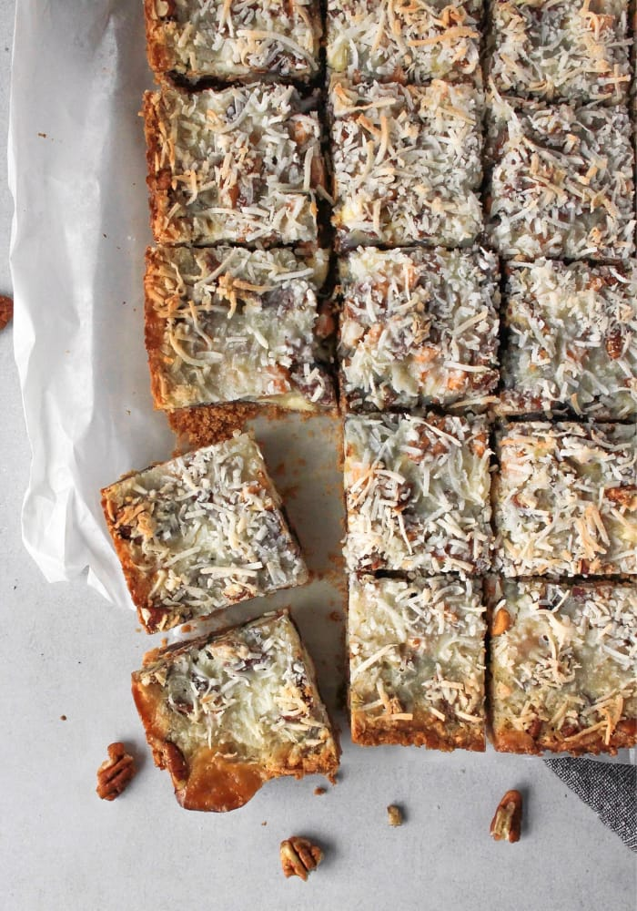 7-LAYER BARS (MAGIC COOKIE BARS)