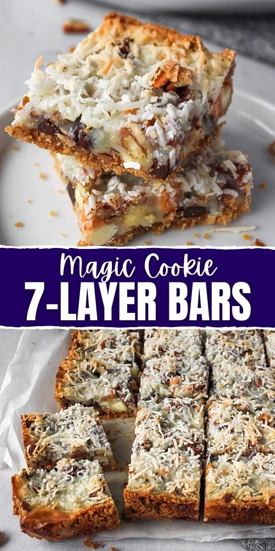7-LAYER BARS MAGIC COOKIE