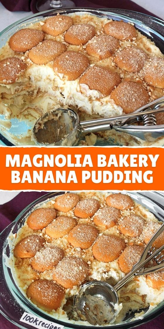MAGNOLIA BAKERY BANANA PUDDING (FROM SCRATCH)