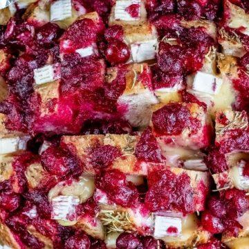 Cranberry Brie Pull Apart Bread Recipe