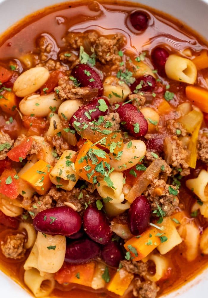 Copycat Olive Garden Pasta e Fagioli