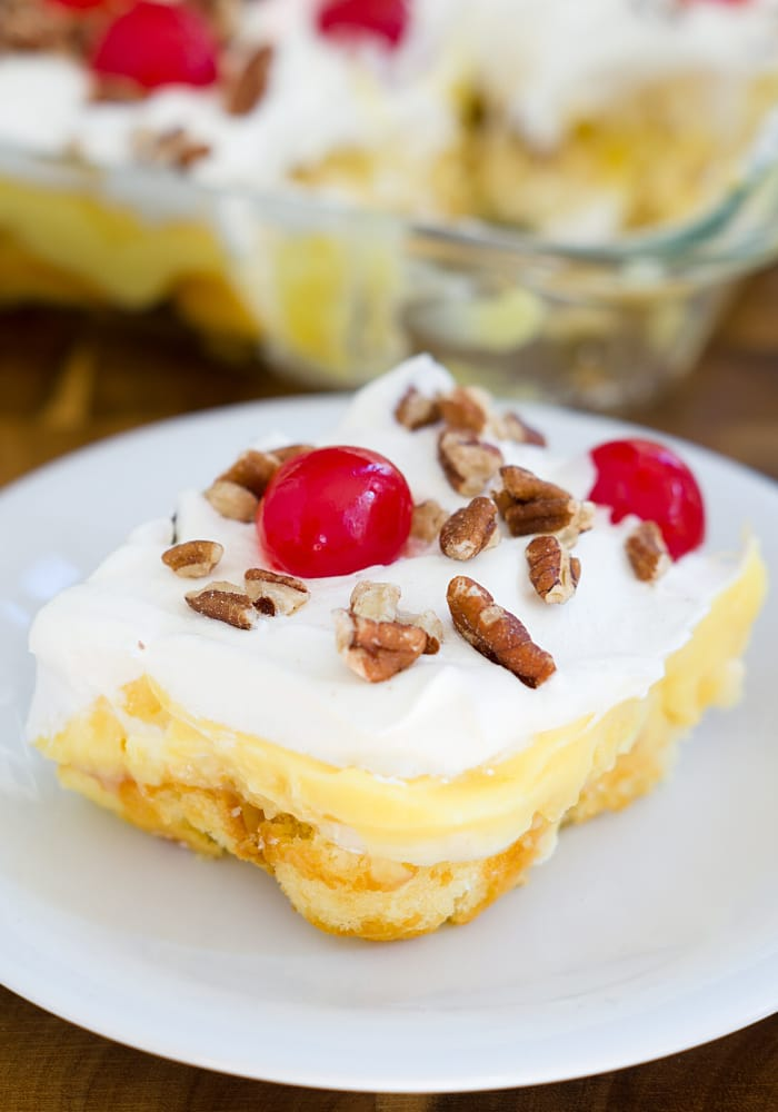 No-Bake Twinkie Pudding Cake