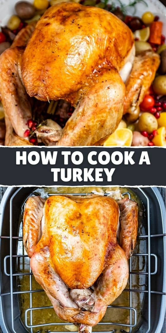 HOW TO COOK THE PERFECT TURKEY IN THE OVEN