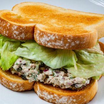 easy Tuna Salad Sandwich Recipe