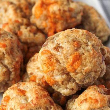 4-Ingredient Bisquick Sausage Balls Recipe