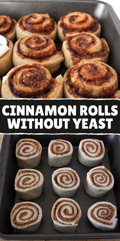 Easy Cinnamon Rolls Without Yeast