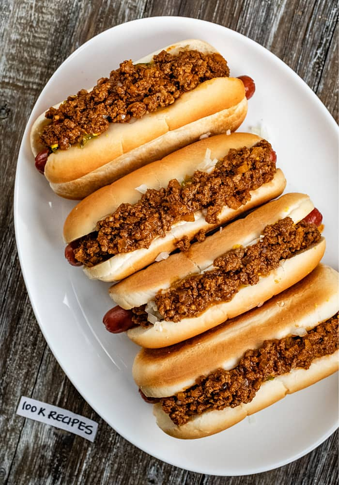Classic Coney Island Hot Dog Sauce