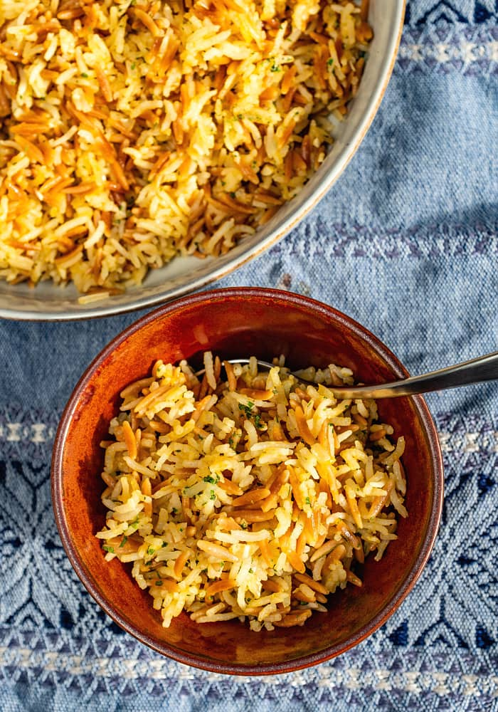 BEST Homemade Rice Pilaf Recipe