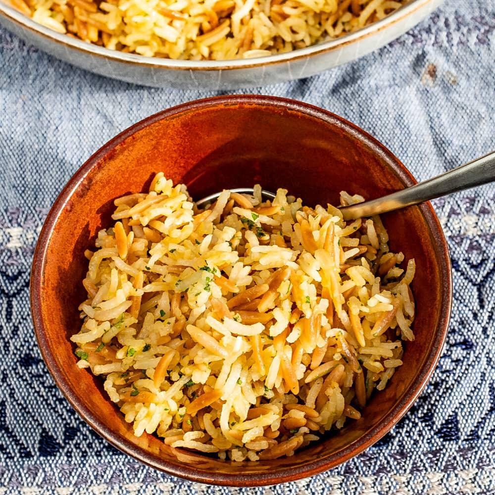 rice with orzo pasta Recipe