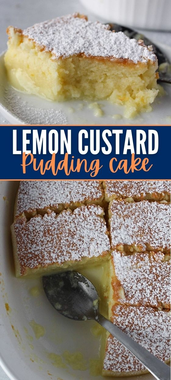 Lemon Custard Pudding Cake (desserts Recipe)