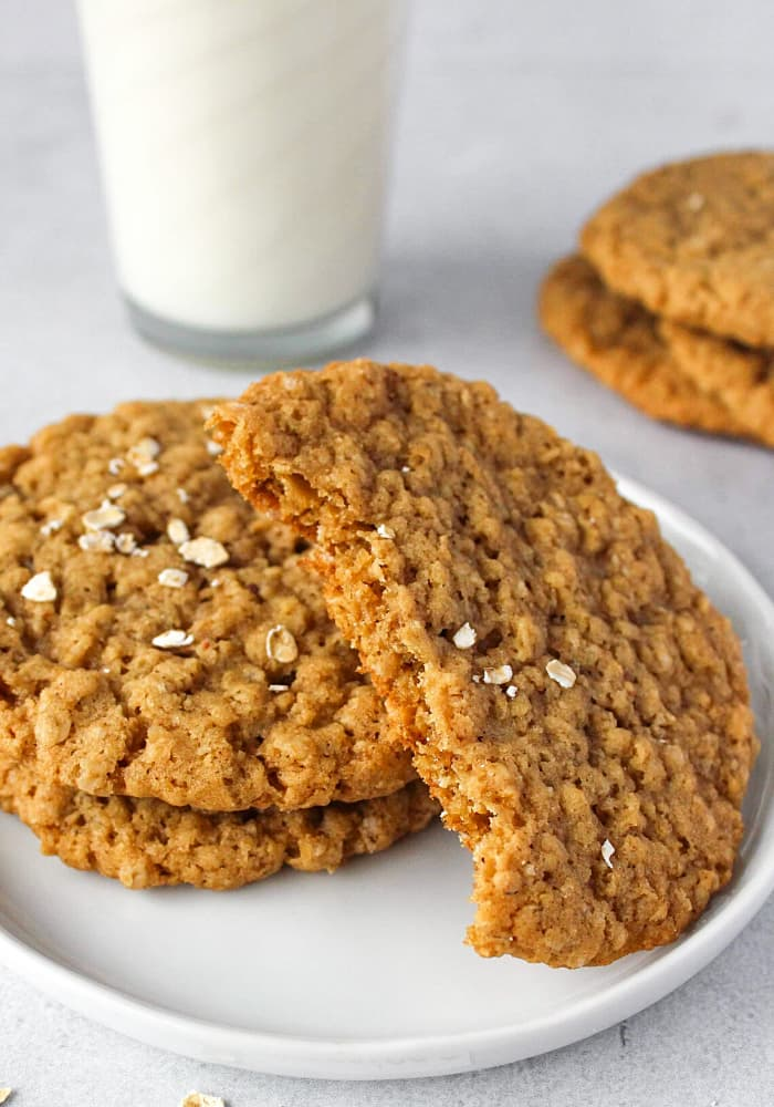 what are the ingredients for oatmeal cookies