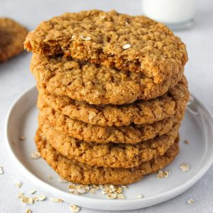 Oatmeal Crispies cookies