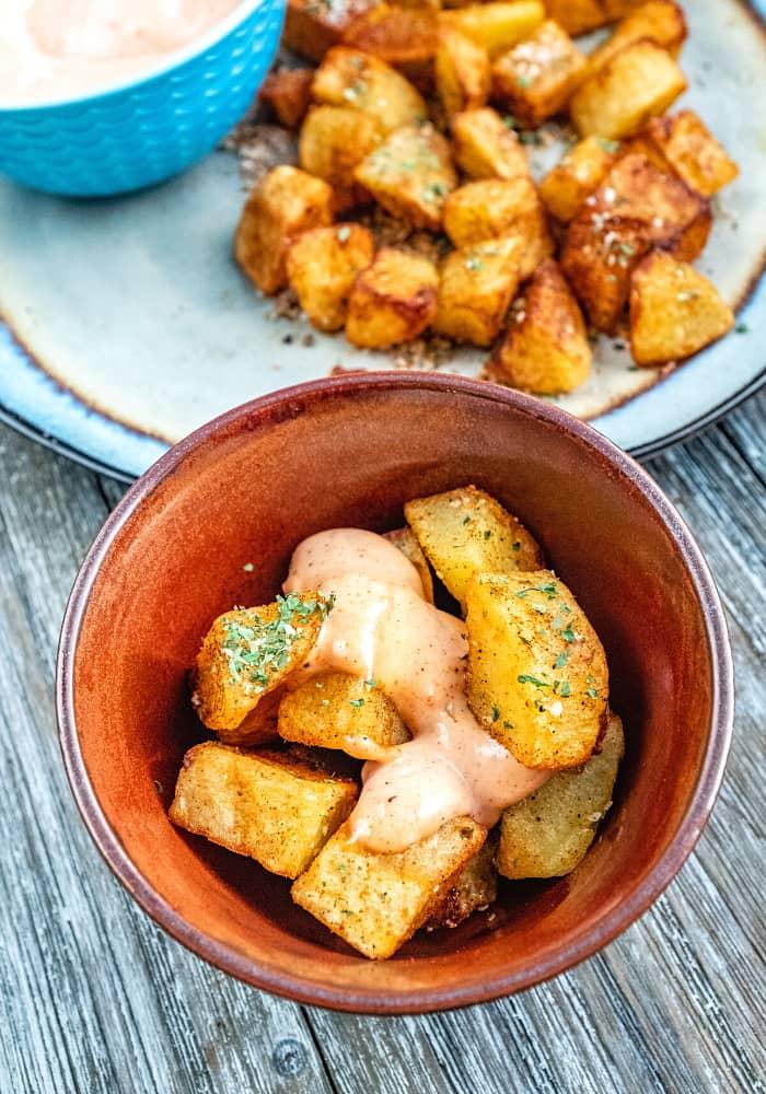 Easy Patatas Bravas Recipe : How to Make It